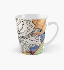Flower Drawing Tall Mug