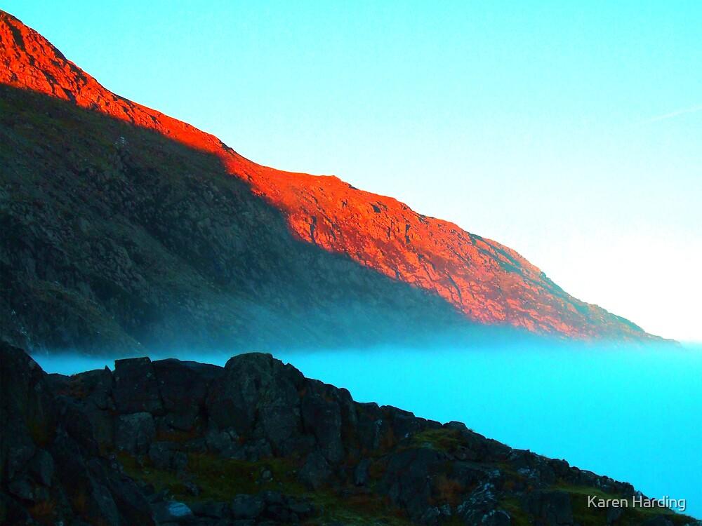 Blue Mist Rising by Karen Harding