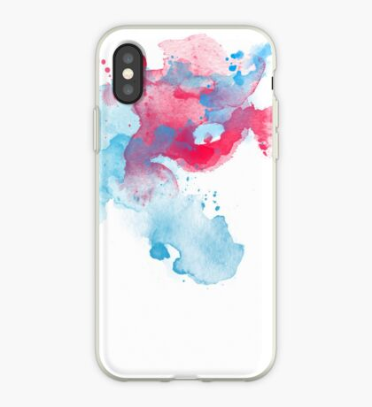 Abstract Watercolour Splash iPhone Case