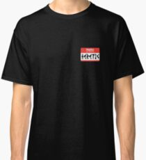 Hello My Name is Heretic | Wargaming Classic T-Shirt