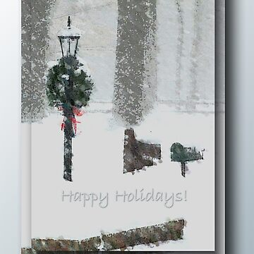 A Snowy Day ... Happy Holidays by HSM2007