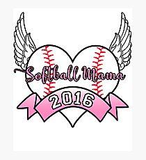 Softball Mama 2016 Photographic Print