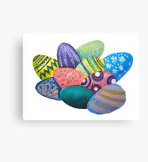 Eggs on Easter Canvas Print