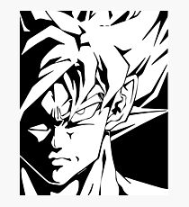 Shadow of Son Goku  Photographic Print