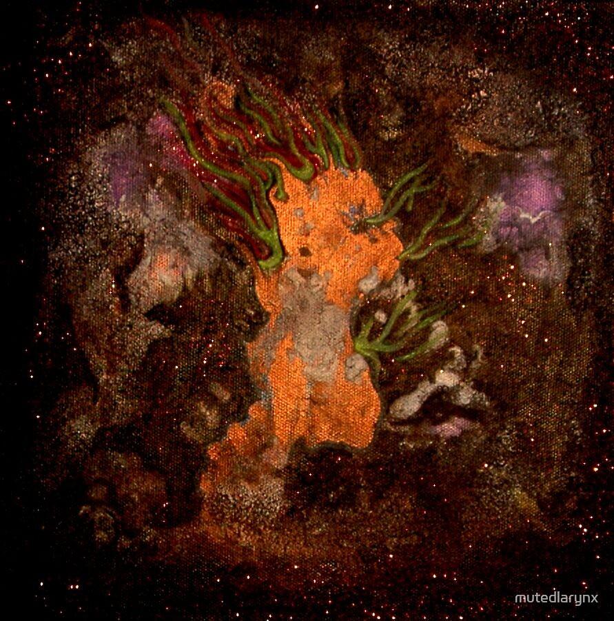 Manifestion Of The God Within. by mutedlarynx