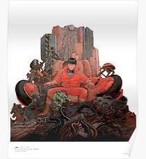 Kaneda Shotaro Akira Manga Katsuhiro Otomo Poster