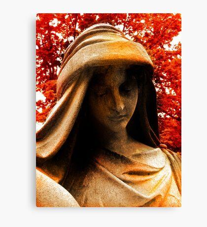 Autumn Sorrow Canvas Print