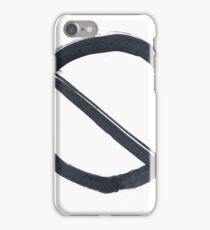 Hobo Sign - 072 - Worth Robbing iPhone Case/Skin