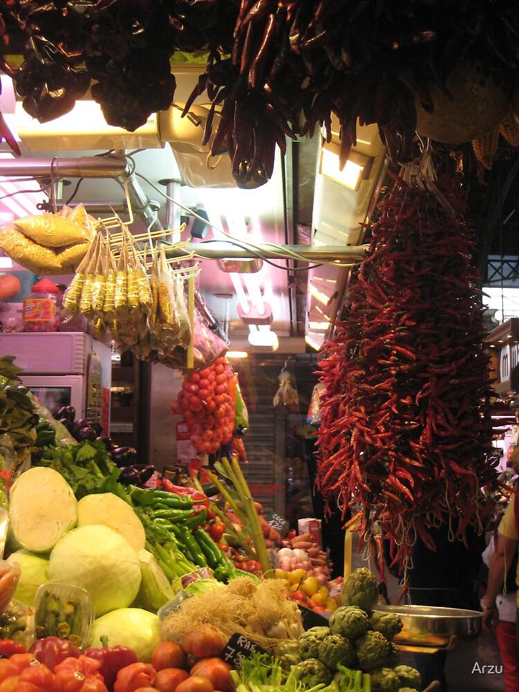 La Rumbla Market by Arzu