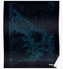 USGS TOPO Map Colorado CO Paradox 451403 1960 24000 Inverted Poster