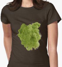Smoke Green Women's Fitted T-Shirt