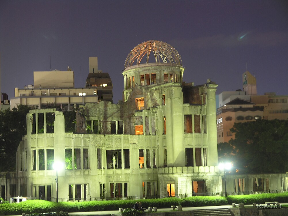 A bomb Dome Hiroshima by Rossco9