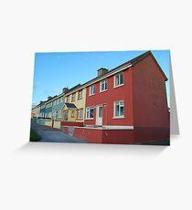 Suburban Colours - Ballybunnion Greeting Card
