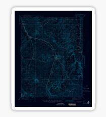USGS TOPO Map Colorado CO Castle Rock 402236 1945 62500 Inverted Sticker