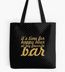 It's time for... Gym Motivational Quote Tote Bag