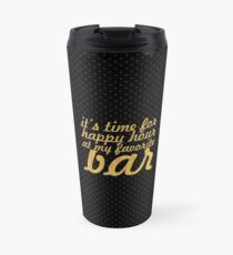 It's time for... Gym Motivational Quote Travel Mug