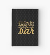 It's time for... Gym Motivational Quote Hardcover Journal