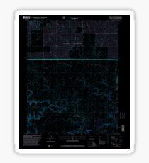 USGS TOPO Map Colorado CO Pintada Creek 234128 1996 24000 Inverted Sticker