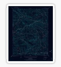 USGS TOPO Map Colorado CO Mount Olympus 402746 1905 62500 Inverted Sticker