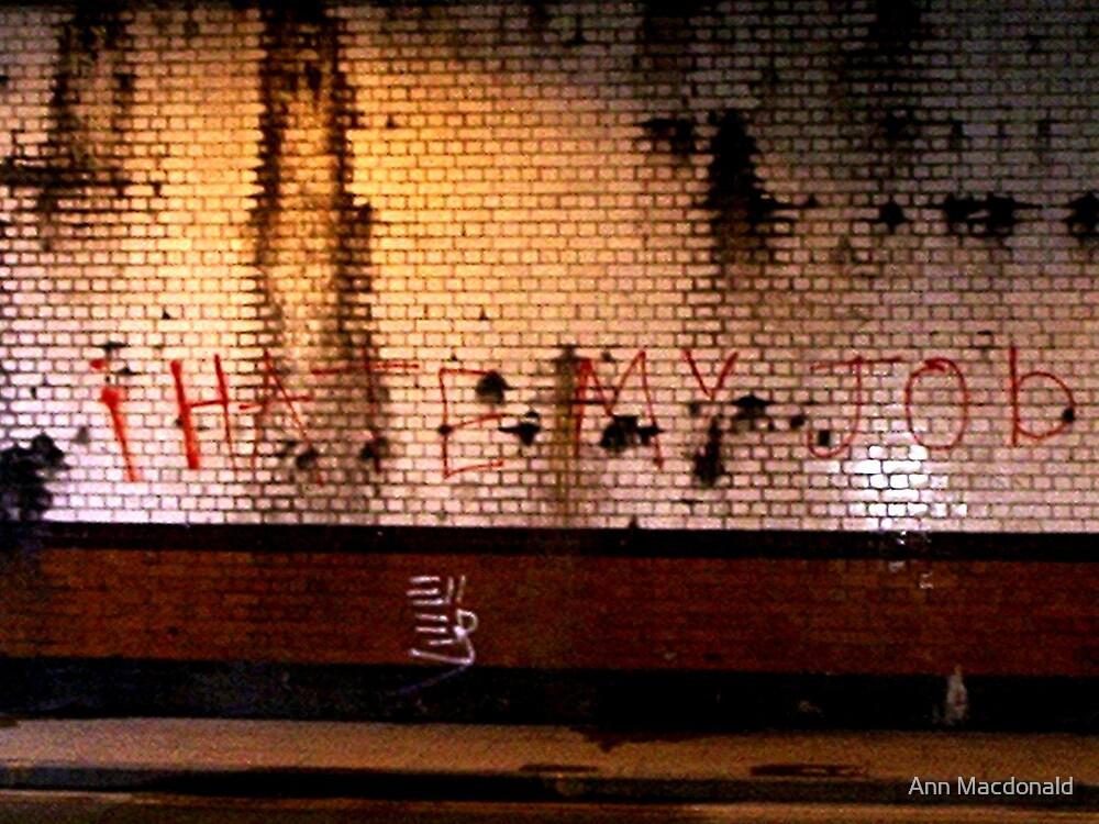 Grafiti by Ann Macdonald