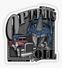 Optimus Oil. Sticker