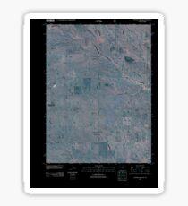 USGS TOPO Map Colorado CO Eastman Creek SE 20110114 TM Inverted Sticker