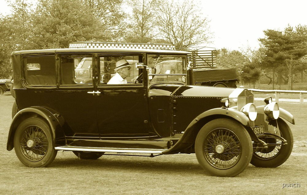Vintage Car by punch