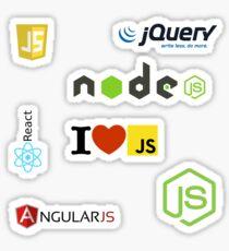 javascript ecosystem nodejs jquery Sticker