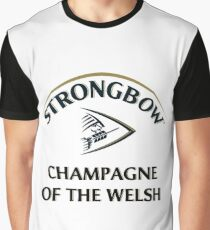 Strongbow Champagne of the Welsh Graphic T-Shirt