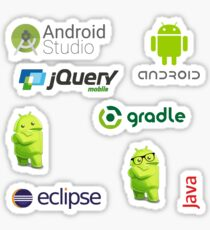 android sticker set Sticker