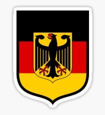 Germany Flag German Eagle Sticker