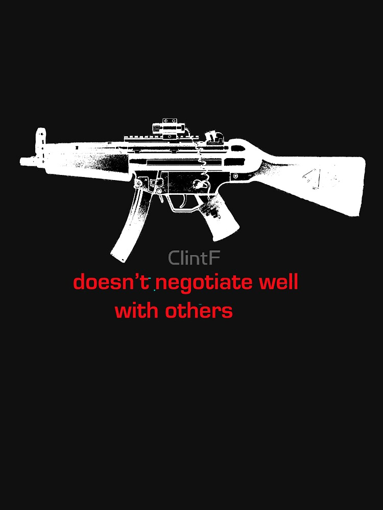 negotiate this for darker shirts by ClintF