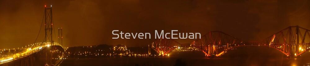 The Forth Bridges by Steven McEwan