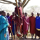 Maasai Welcome Dance by Philip Alexander