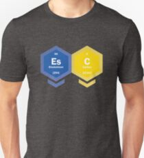 ESC - periodic table [2017, Kyiv] T-Shirt