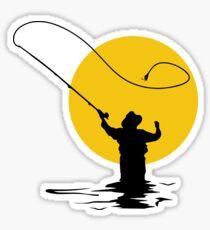 Fly Fishing Sticker
