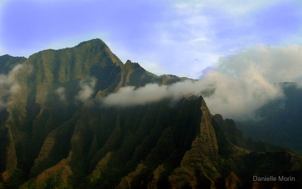Hills of Hawaii by Danielle Morin