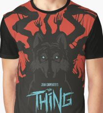 The Thing Classic Retro Poster Graphic T-Shirt