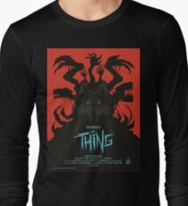 The Thing Classic Retro Poster Long Sleeve T-Shirt