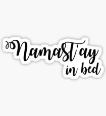 Sleep Disorders: Nama-stay in bed Sticker
