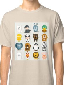 Funny Animals Collection Classic T-Shirt