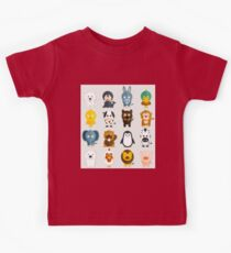 Funny Animals Collection Kids Tee