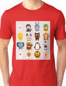 Funny Animals Collection Unisex T-Shirt
