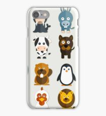 Funny Animals Collection iPhone Case/Skin