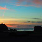 Sherbet Sunset  by Kekezza Reece