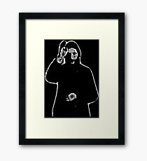 The Mad Monk Framed Print