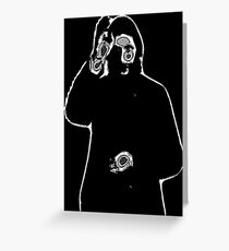 The Mad Monk Greeting Card