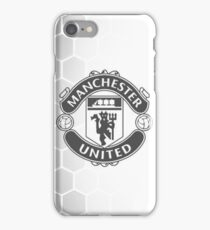 Manchester United White iPhone Case/Skin