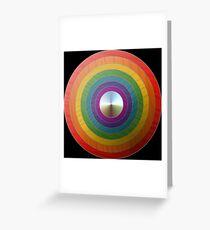 Rainbow Shield Greeting Card