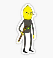 Earl of Lemongrab Sticker